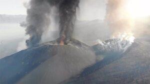Cráter del volcán de La Palma - GOBIERNO DE CANARIAS